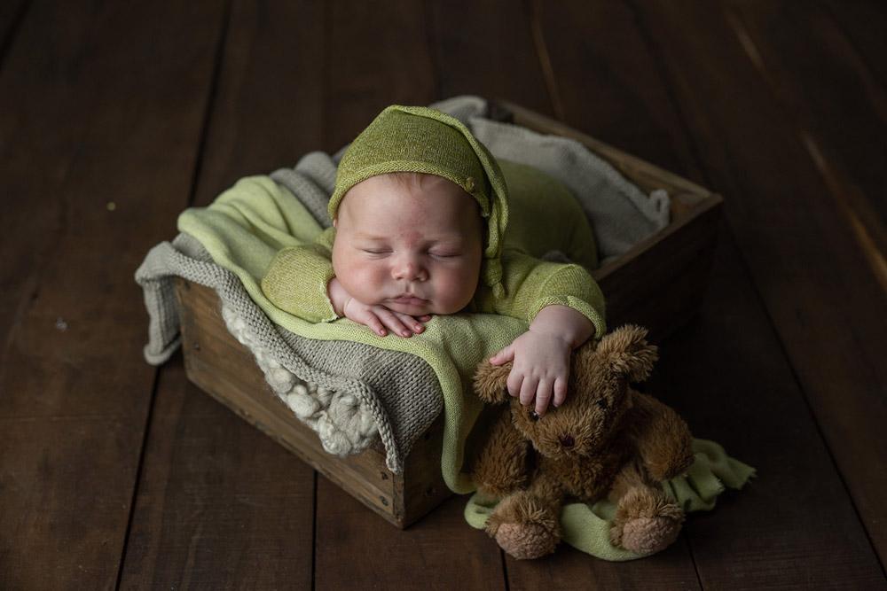 Fotografía de recien nacidos sin editar