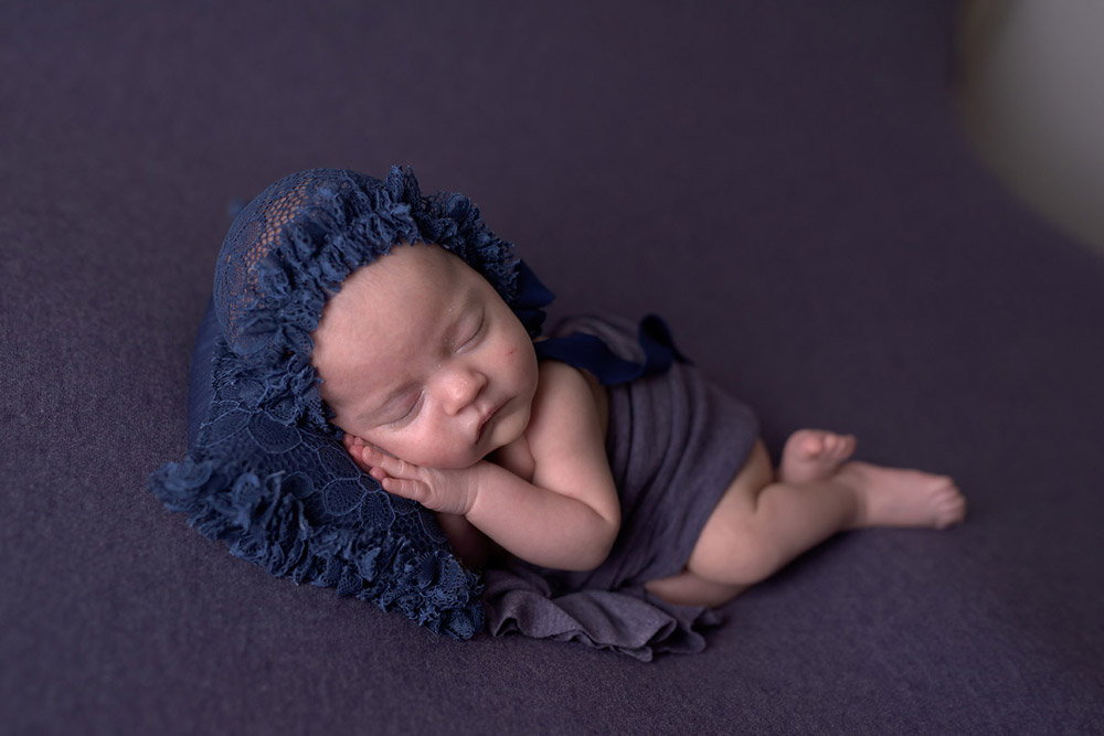 Edición de fotografía newborn,