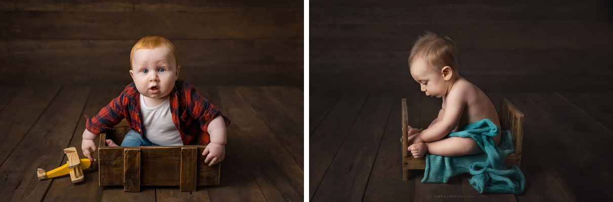 Fotografía en estudio por Cintia Espinoza fotógrafa infantil