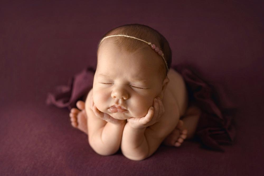 Fotografía newborn, acción de photoshop para remover azules y rojos